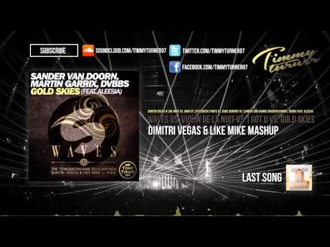 Dimitri Vegas & Like Mike - Waves vs. Violin De La Nuit vs. I Got U vs. Gold Skies (DV&LM Mashup)