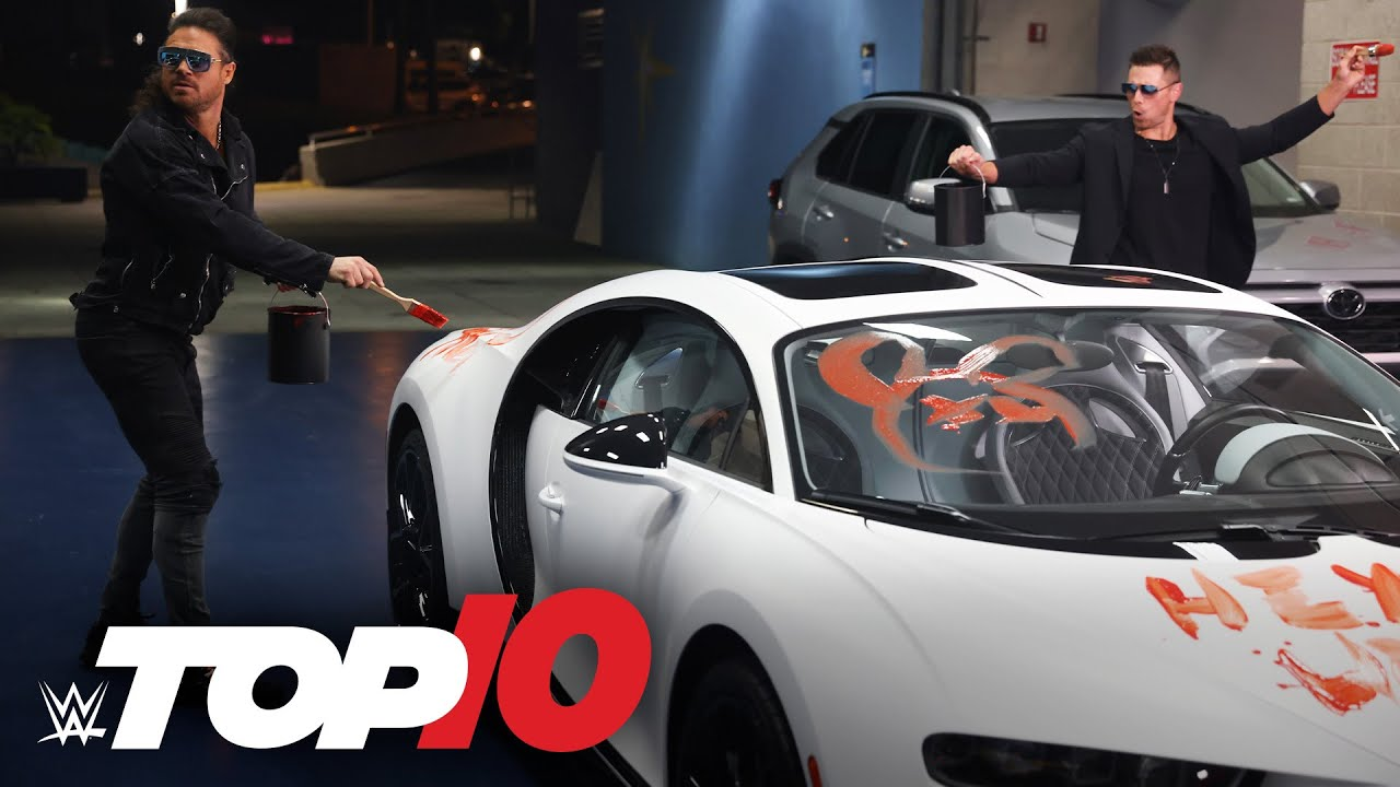 Top 10 Raw moments: WWE Top 10, April 5, 2021