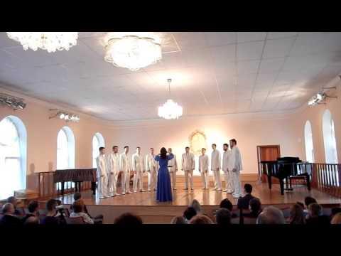 Мужской камерный  хор НУК ДКА Комсомольска -на-Амуре - Дороги моей земли.