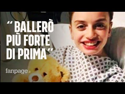 """Ballerina 12enne cade dal trampolino e le amputano un braccio: """"Ballerò più forte di prima"""""""