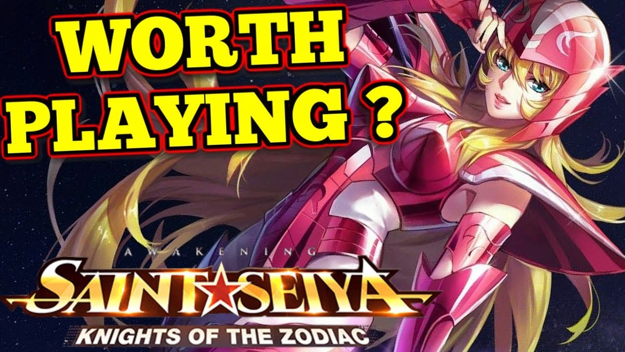 Daily Grind Review 2020: Saint Seiya Awakening: Knights of the Zodiac
