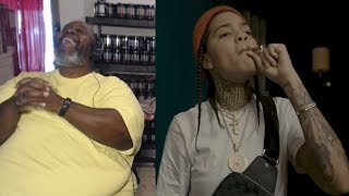 """Dad Reacts to Young M.A """"I Get The Bag Freestlye"""""""