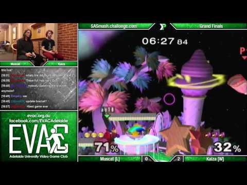 EVAC 22/4/16 - Muscat (Peach) vs Kaiza (Falco) - Grand Finals - SSBM