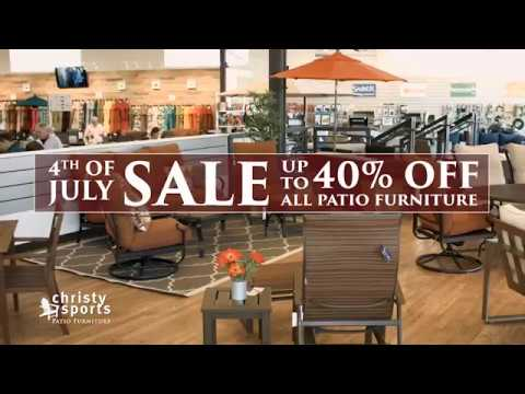 Christy Sports Patio Furniture 4th Of July Sale Until July 9th   Colorado