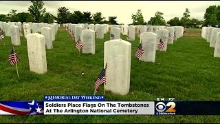 Vets Use Memorial Day To Honor Fallen Comrades