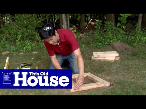 How To Build A Planter Bench This Old House YouTube
