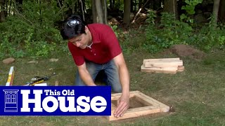 How To Build A Planter Bench - This Old House