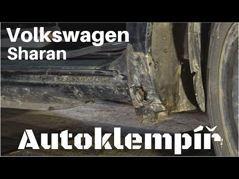 Volkswagen Sharan oprava prahů a blatníků (Car body repair)