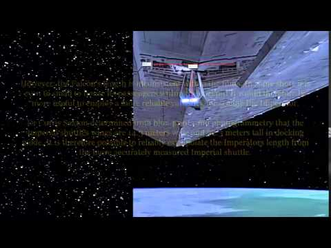 The True Size Of Imperial Star Destroyers Youtube