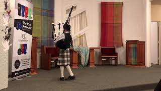 Agustin Arguelles, Grade 4 Piping Competition