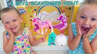 New Little Live Pets Toy Scavenger Hunt! Unicorn, Hatching Dragon, Light Up Wings Bird! 4 Color Keys