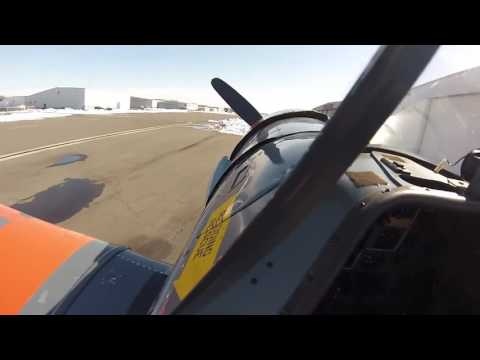 How to Start a North American T-6 Texan
