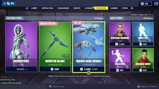 Today's Fortnite item shop February 7 2019 use code suryc