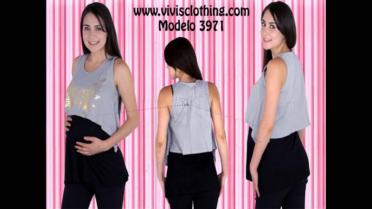 VIVIS CLOTHING ropa juvenil de maternidad - YouTube