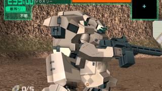 Dennou Senki Virtual On Marz Gameplay HD 1080p PS2