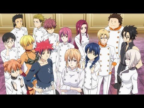 Все опенинги из аниме: В поисках божественного рецепта (1-6 опенинг)