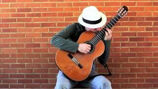 La Paloma -  Michael Lucarelli, classical guitar