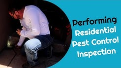 Residential Pest Control Inspection (episode 43A)
