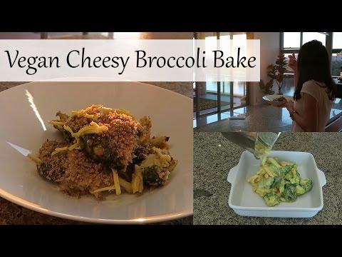 Vegan Cheesy Broccoli Bake