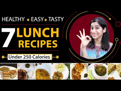 7 Lunch Recipes for Weight Loss (Vegetarian) | By GunjanShouts
