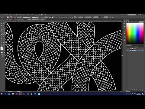 How To Draw A Snake | Adobe Illustrator Tutorial