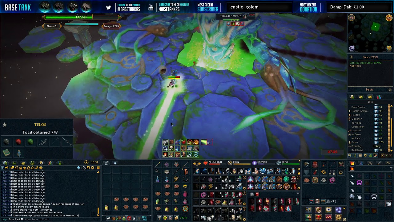 How to and How to NOT Telos by Base Tank