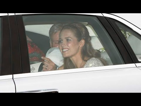 KIM SEARS Andy MURRAY''s WIFE to Be ARRIVING at DUNBLANE CHURCH for WEDDING {VIDEO EXCLUSIVE}