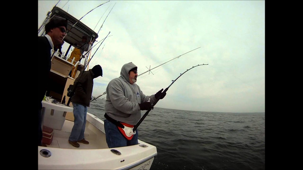 2012 striper fishing in virginia beach youtube for Fish bones va beach