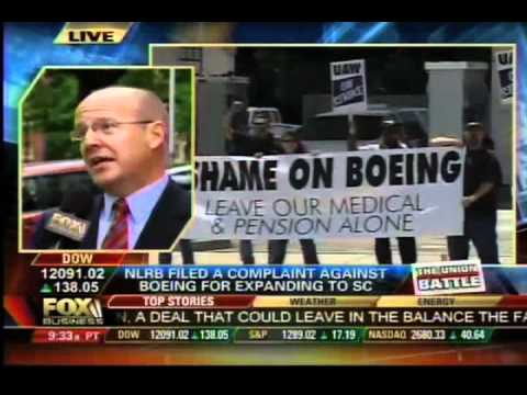 Fox Business Covers the National Labor Relations Board