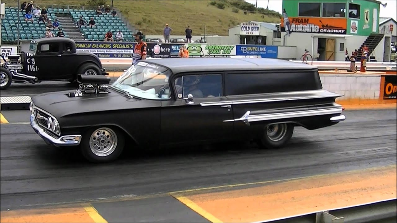 Coutning Cars Wallpaper Chevy 1960 Sedan Delivery Drags Wmv Youtube