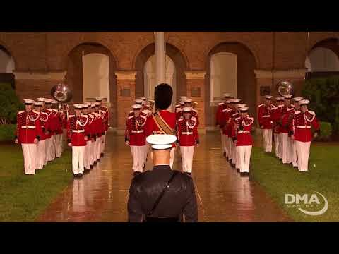 Marine Barracks Washington Evening Parade  May 4, 2018