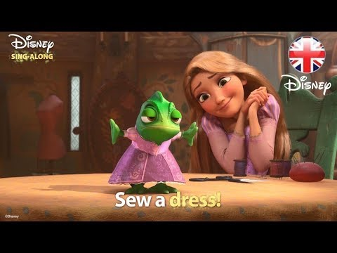 DISNEY SING-ALONGS | When Will My Life Begin? - Tangled Lyric Video! | Official Disney UK