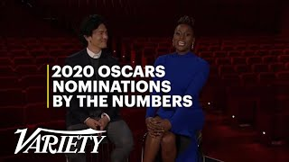 2020 Oscar Nominations by the Numbers