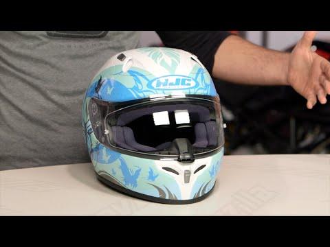 HJC FG-17 Flutura Women's Helmet Review at RevZilla.com