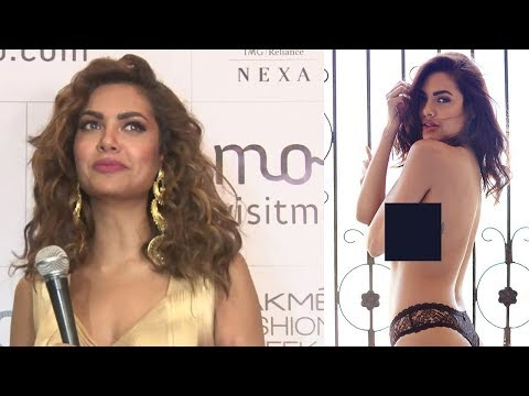 Esha Gupta's Reaction On Her HOT Photoshoot