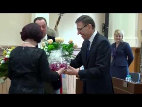 OLSZTYN24: Pożegnanie Odchodzącej Na Emeryturę Elżbiety Bronakowskiej - Dyrektor MOPS W Olsztynie