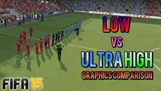 FIFA 15 | PC Low vs Ultra High Graphics Comparison