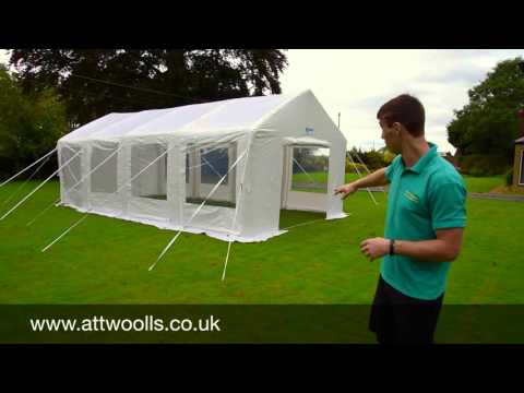 K&a Inflatable Party Tent Review & Kampa Inflatable Party Tent Review - YouTube
