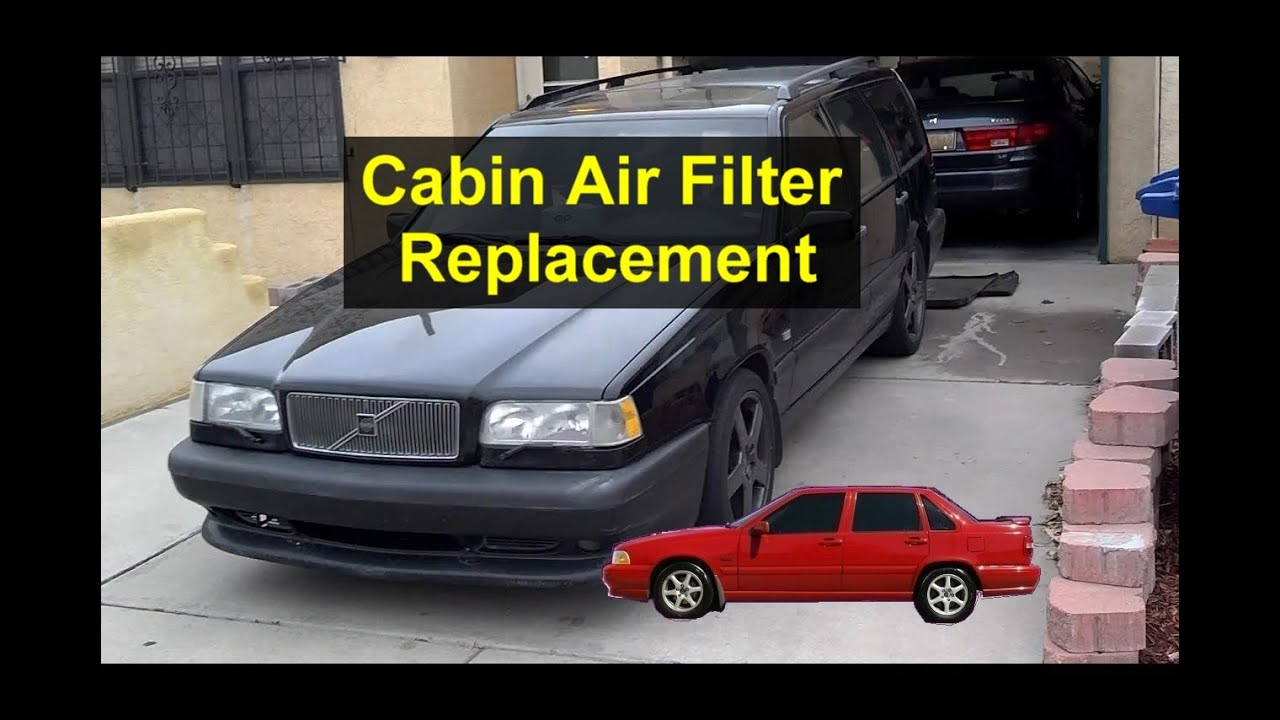 maxresdefault how to change the cabin air filter, volvo s70, v70, 850, etc  at panicattacktreatment.co
