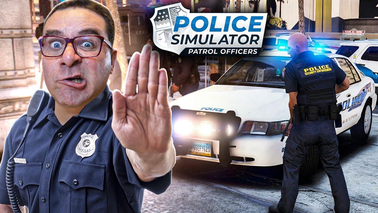 VOSSO AGENTE AO SERVIÇO   POLICE SIMULATOR PATROL OFFICERS #9