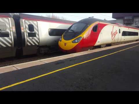 Trains at Birmingham International WCML (WCML Diverts) 27/12/16