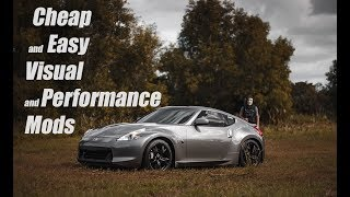 Top 5 Best Budget Mods For Your Nissan 370z/350z |  Best Cheap Car Mods For Under $400!