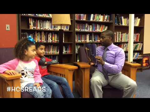 HCS Winter Reading Challenge with Principal Anthony Black