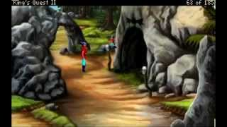 Let's Play LIVE: King's Quest 2 AGD (part 3)