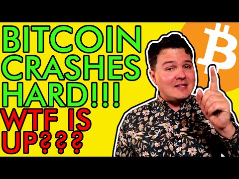 BITCOIN CRASHES HARD! WTF IS HAPPENING? WHAT NOW? [Crypto Holders Must Watch]