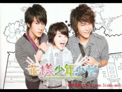 me singing wo yi zhi dou zai (hua yang hua nian shoa nu/hana kimi ost)