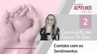 Tema 2 - Contato com os Sentimentos - Conversando com Rosana De Rosa