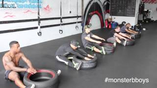 Monster Energy Bboys Training