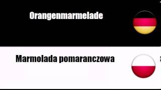 Deutsch + Polnisch = Marmolady