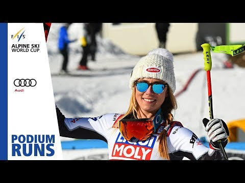 Mikaela Shiffrin | Ladies' Super-G | Cortina | 1st place | FIS Alpine